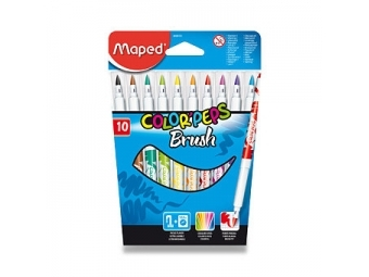 Maped COLOR´PEPS Brush farebné fixky...