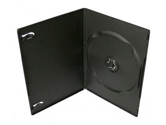 Obal na DVD/1ks SLIM čierny,7mm (bal=100ks)