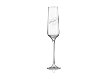 Pohár na šampanské s gravírovaním,...