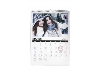 Kalendár A4 nástenný mesačný, na...