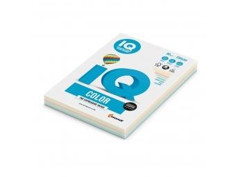 IQ Color A4/80g MIX pastel (bal=5x50hár)