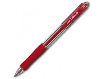 UNI Laknock SN-100(07) guličkové pero červené