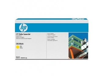 HP CB386A Fotovalec Yellow