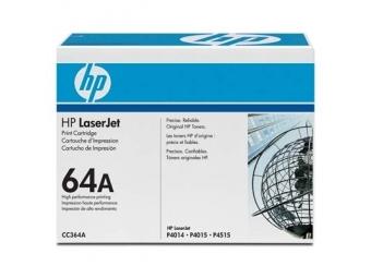 HP CC364A Tonerová kazeta Black 64A