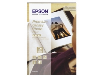 Epson Premium Glossy Photo Paper, (S042153), 10×15cm (bal=40ks)