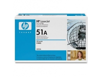 HP Q7551A Tonerová kazeta Black