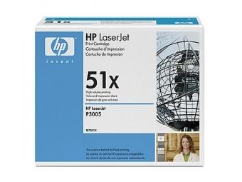 HP Q7551X Tonerová kazeta Black HC