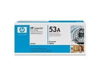 HP Q7553A Tonerová kazeta Black 53A