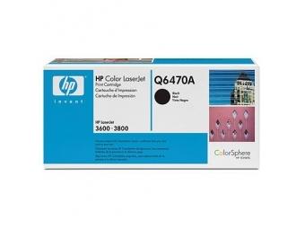 HP Q6470A Tonerová kazeta Black