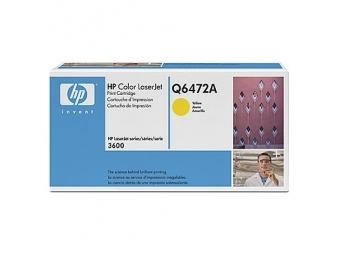 HP Q6472A Tonerová kazeta Yellow