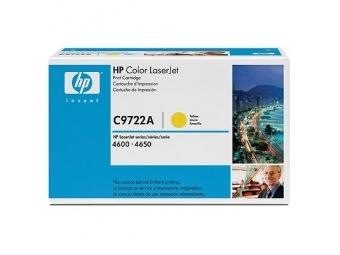HP C9722A Tonerová kazeta Yellow