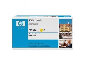 HP C9732A Tonerová kazeta Yellow