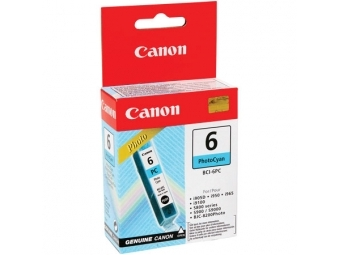 Canon BCI-6 Atramentová náplň PhotoCyan