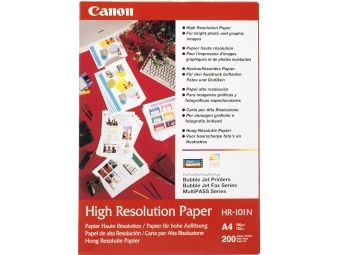 Canon HR101N High Resolution Paper, A4, 106g (bal=200ks)