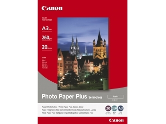 Canon SG201 Photo Paper Plus Semi-gloss, A3, 260g (bal=20ks)