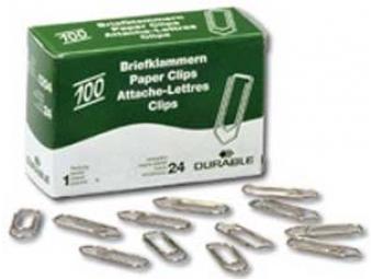 Durable Spony listové 32mm medené šípkové (100ks)
