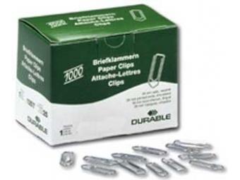 Durable Spony listové 32mm zinkové šípkové (bal=1000ks)