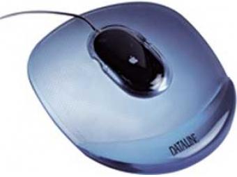 Esselte Podložka pod myš gélová Crystal modrá