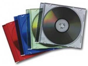 Fellowes Obal na CD slimline číry (bal=25ks)