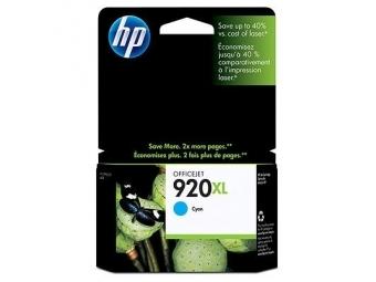 HP No.920XL Atramentová kazeta Cyan (CD972AE)