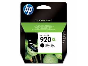 HP No.920XL Atramentová kazeta Black (CD975A)