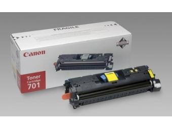 Canon 701Y Tonerová kazeta Yellow, HC