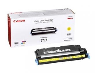 Canon 717Y Tonerová kazeta Yellow