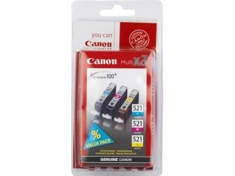 Canon CLI-521 Atramentová náplň CMY, 3ks