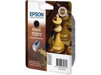 Epson T0511 Atramentová náplň Black