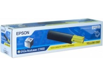 Epson S050187 Tonerová kazeta Yellow HC