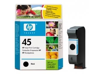 HP No.45 SMALL Atramentová kazeta Black (51645G)