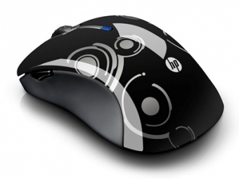 HP Wireless Comfort Mobile Mouse Espresso Laser/Micro Pavilion