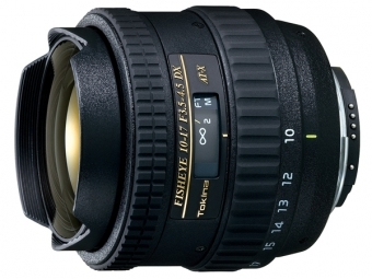 Tokina AT-X 10-17mm f/3,5-4,5 AT-X DX Fisheye Canon
