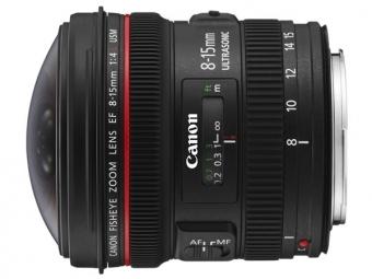 Canon EF 8-15mm f/4L USM Fish-Eye (pri kúpe s fotoaparátom -150€ SPÄŤ)