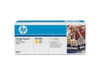 HP CE742A Tonerová kazeta Yellow 307A