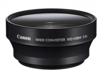Canon Širokouhlý konvertor WD-H58W 0,8x (pre HFG10/XA10/XF100/XF105))