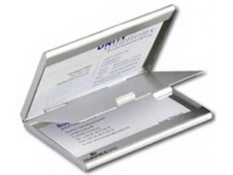 Durable Krabička na vizitky DUO (2x10vizitiek)