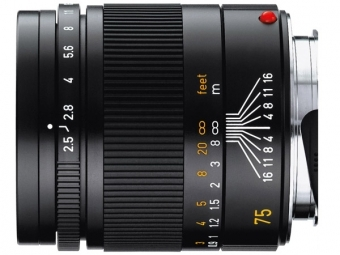 LEICA Summarit-M 2.5/75mm black