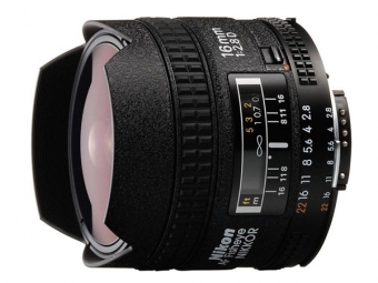 Nikon 16MM F2.8 AF NIKKOR D A Fish-eye (rybie oko)