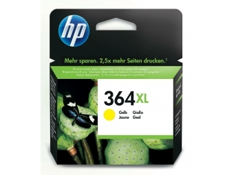 HP No.364XL Atramentová kazeta Yellow (CB325E)