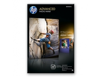 HP Advanced Glossy Photo Paper (Q8008A), 10×15cm/60ks, bez okrajov