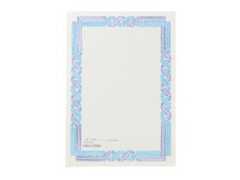 Apli Certifikačný papier modro-tyrkysový A4/115g (bal=25ks)