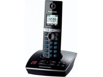 Panasonic KX-TG8061FXB Bezdr. telefón, čierna