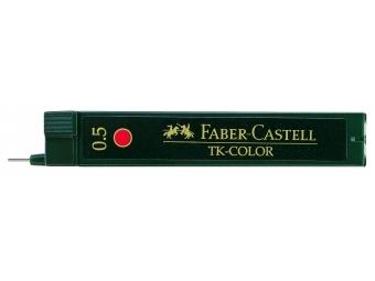 Faber-Castell 9085/R 0,5 tuha do mikroceruzky,červené