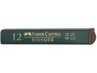 Faber-Castell Polymer 0,5 HB tuha do mikroceruzky (bal=12ks)
