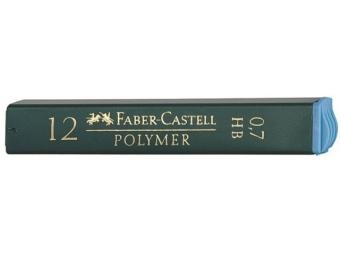 Faber-Castell Polymer 0,7 HB,tuha do mikroceruzky (bal=12ks)