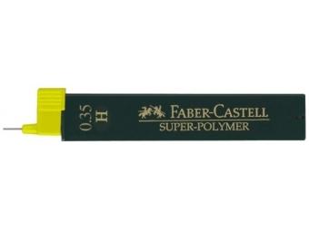 Faber-Castell Super-Polymer 9063 0,35 H,tuha do mikroceruzky (bal=12ks)