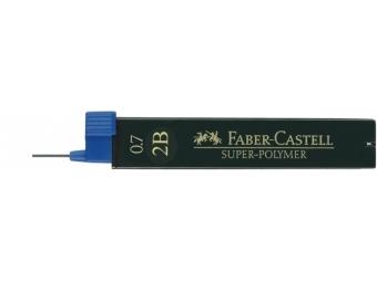 Faber-Castell Super-Polymer 0,7 2B,tuha do mikroceruzky (bal=12ks)