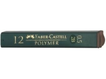 Faber-Castell Polymer 0,5 2B tuha do mikroceruzky (bal=12ks)
