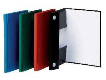 Donau Box na dokumenty kartónový 15mm so suchým zipom zelený
